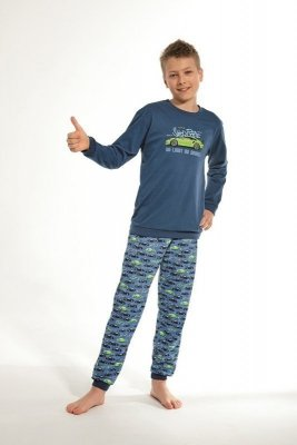 Cornette 593/93 Kids No Limit Jeans Chlapecké pyžamo