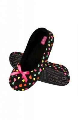 Soxo 79984 papuče baleríny, srdíčka