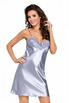 Donna Eva stříbrná Noční košile