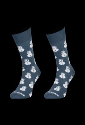 Sesto Senso Finest Cotton Sněhuláci Ponožky