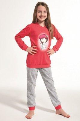 Cornette 594/108 Kids Girl With Cat Dívčí pyžamo