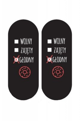 Soxo Życiowe instrukcje 9924 - Głodny Pánské ponožky