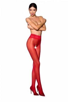 Passion Tiopen 008 roso 30 den Punčochové kalhoty