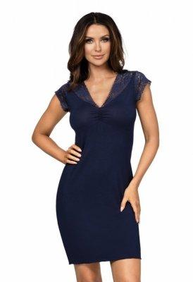 Donna Eleni tmavě modrá Noční košile