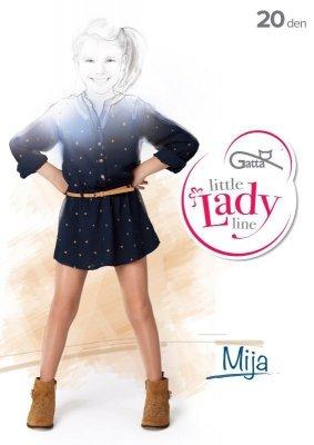 Gatta Little Lady Mija 116-158 20 den Punčochové kalhoty