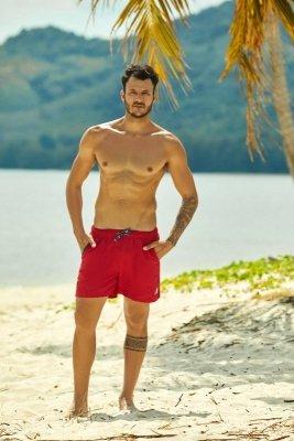 Henderson Hooper 37833-33X červené Pánské plavky