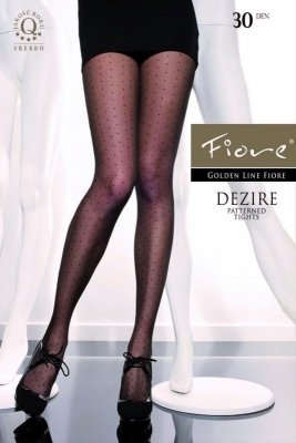 Fiore G 5181 Black Dezire 30 den Punčochové kalhoty