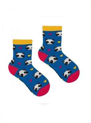 Krebo Wzór Kids 23-34 Ponožky