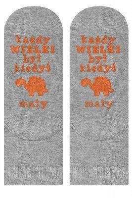 Soxo Życiowe instrukcje 4135 - każdy wielki... Dětské ponožky