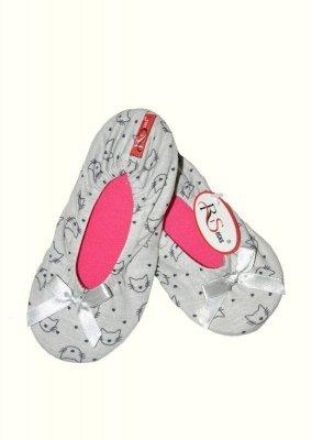 RiSocks Baletky 3065 vzor Dětské papuče