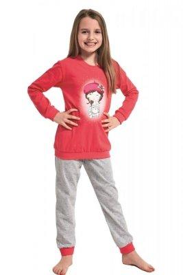 Cornette 594/108 Girl With Cat Dívčí pyžamo