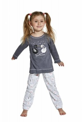 Cornette Young Girl 380/31 Swan Dívčí pyžamo