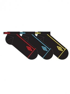 Umbro UMSM 0393 Sneaker A'3 Pánské kotníkové ponožky