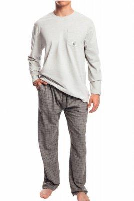 Atlantic NMP-338 šedé Pánské pyžamo