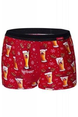 Cornette Merry Christmas Beer 2 007/54 Pánské boxerky