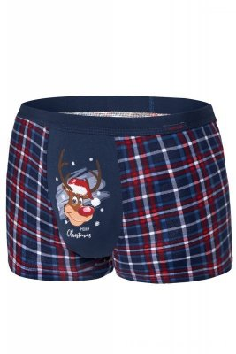 Cornette Merry Christmas Reindeer 007/57 Pánské boxerky