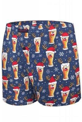 Cornette Merry Christmas Beer 4 016/12 Pánské boxerky