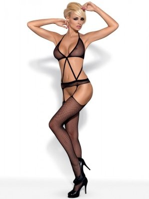 Obsessive Bodystocking N108 black