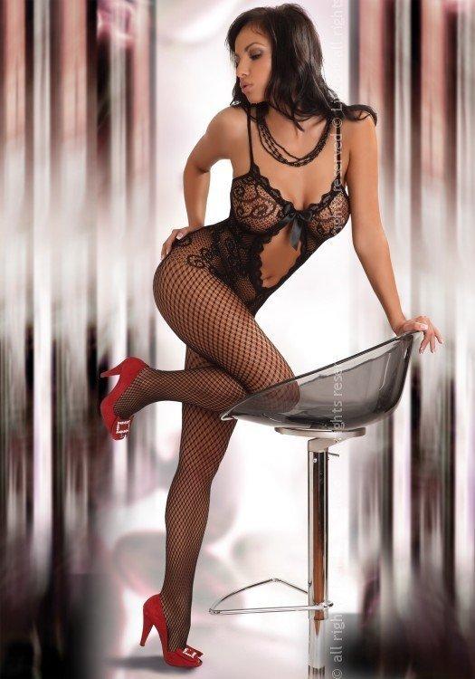 Livia Corsetti Bodystocking Magali black