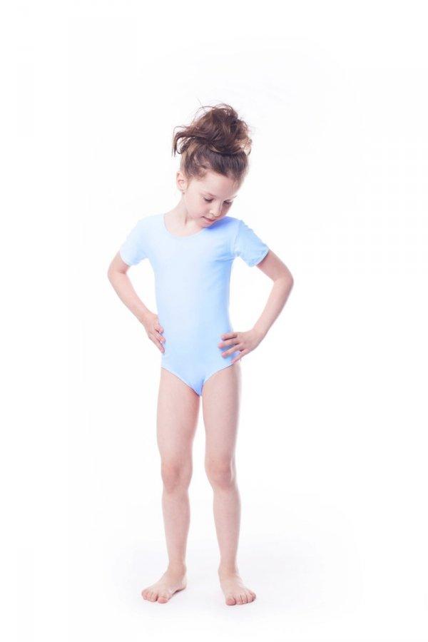 Shepa Gymnastický dres Body lycra (B8) krátký rukáv