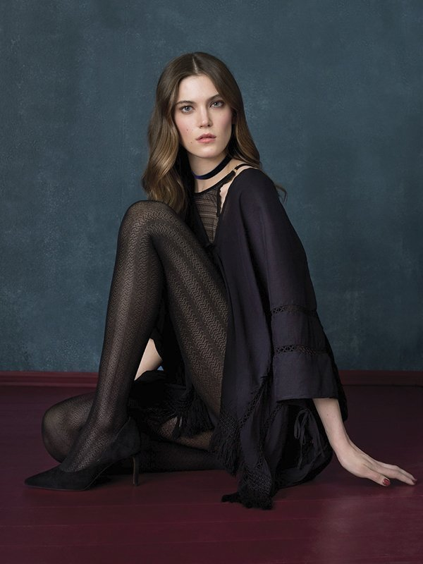 Fiore Blackbird Punčochové kalhoty