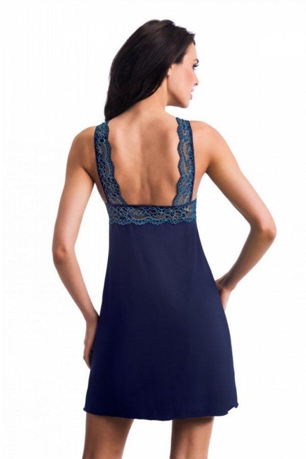 Donna Laila tmavě modrá Noční košile