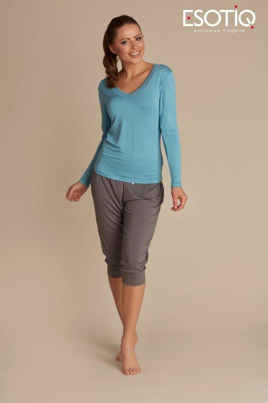 Esotiq Blue 31420 -60X 31744 -90X Dámské pyžamo