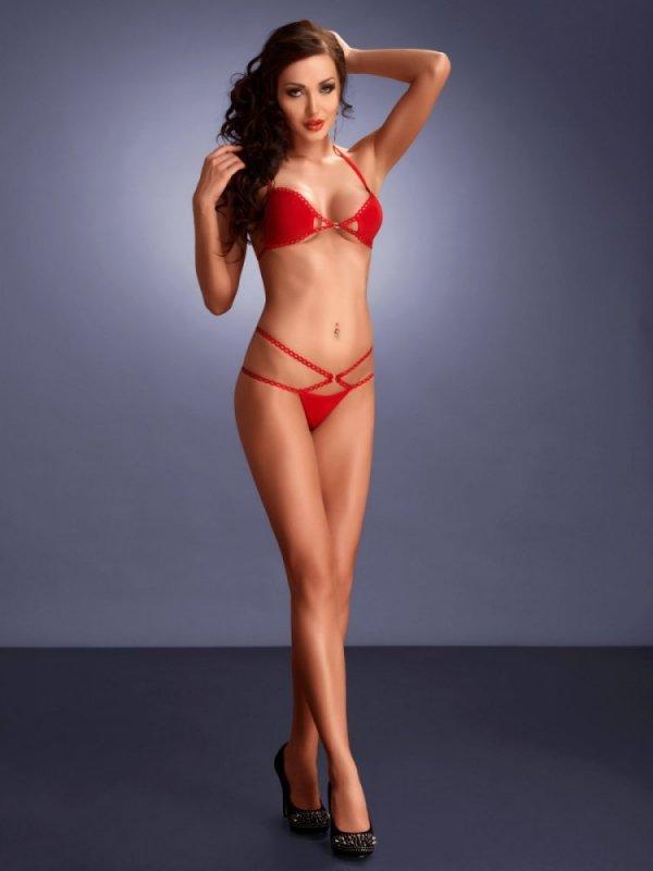 Me Seduce Palmira red Erotická souprava