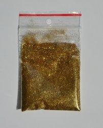 Brokat złoty 0,2 mm