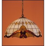 Lampa żyrandol zwis witraż Classic z karem 40cm