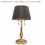 Lampka  mosiężna JBT Stylowe Lampy WLMB/W17L/1 S