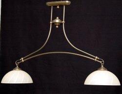 Żyrandol mosiężny JBT Stylowe Lampy WZMB/W55/2