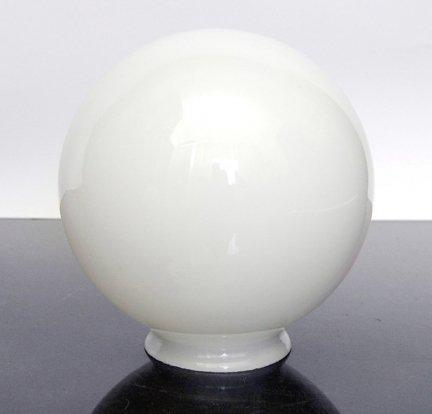 Klosz szklany kula z gwintem 160mm/84,5mm