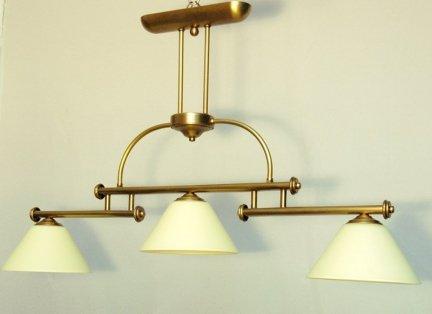 Żyrandol mosiężny JBT Stylowe Lampy WZMB/W82/3