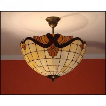 Plafon lampa żyrandol witraż Classic 40cm