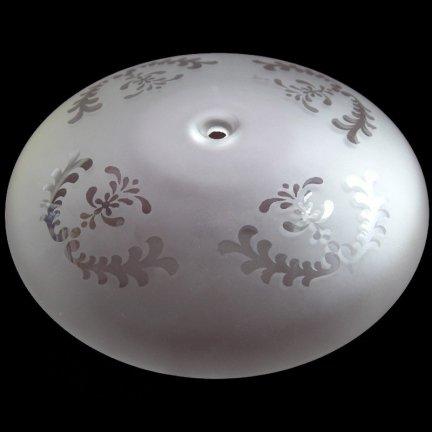 Klosz szklany K2308- klosze do lamp
