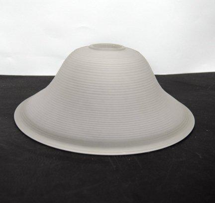 Klosz szklany duży 28cm do żyrandoli,lamp,E27