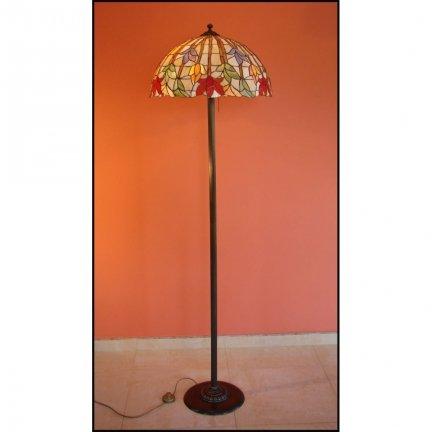 Lampa witrażowa podłogowa stojąca STORCZYK