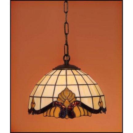 Lampa żyrandol zwis witraż Classic 23cm