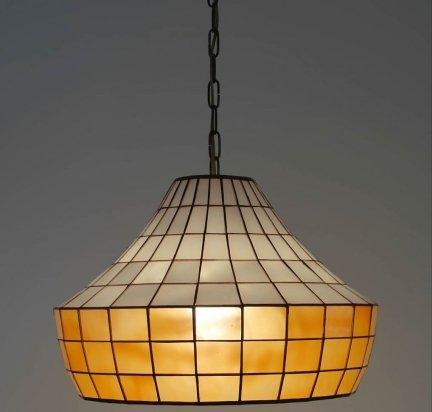 Lampa żyrandol zwis witraż ARCUS 40cm