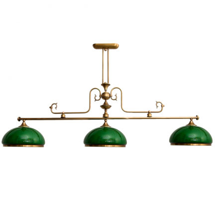 Lampa bilardowa,żyrandol mosiężny,lampa nad stół