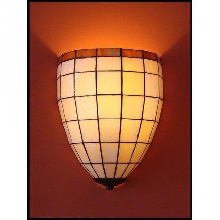 Lampa ścienna kinkiet witraż Clasic 20cm