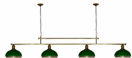 Żyrandol mosiężny JBT Stylowe Lampy WZMB/W34/4ŚD/50070