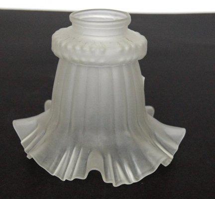 Klosz szklany pod śrubki lampa kinkiet E27