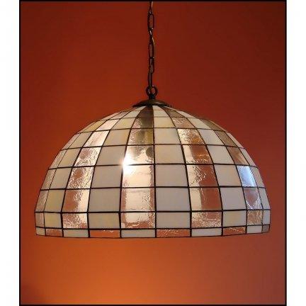 Lampa żyrandol zwis witraż Modernus 40cm