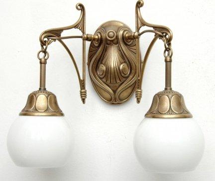 Kinkiet mosiężny JBT Stylowe Lampy WKMB/841K/2