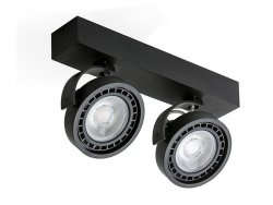 JERRY 2 230V LED Black AZzardo GM4205 BK