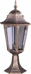LOZANA lampa zewnętrzna stojąca niska K-5006S CZARNY/ZŁOTY KAJA