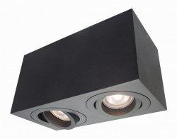 Lyon 2 oprawa natynkowa czarna LP-5881/2SM BK Light Prestige