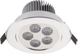 NOWODVORSKI DOWNLIGHT LED SILVER 6822